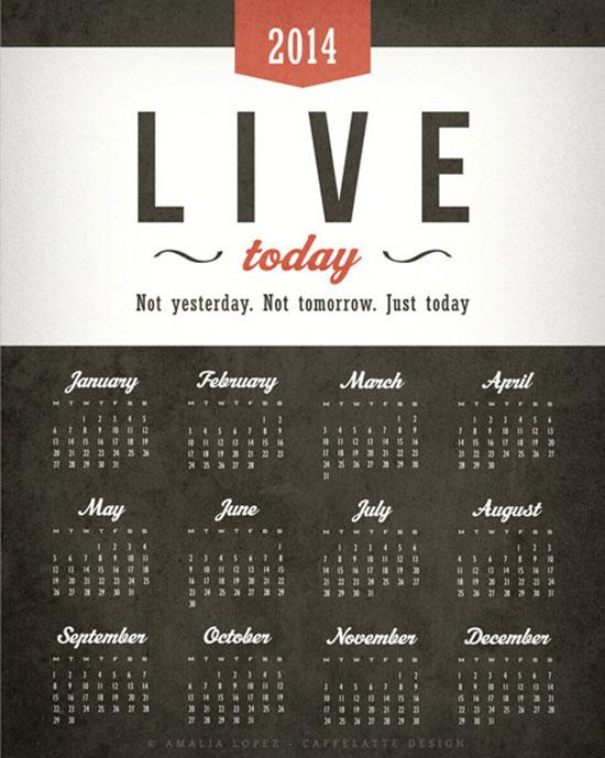Printable-2014-Calendar-design-2