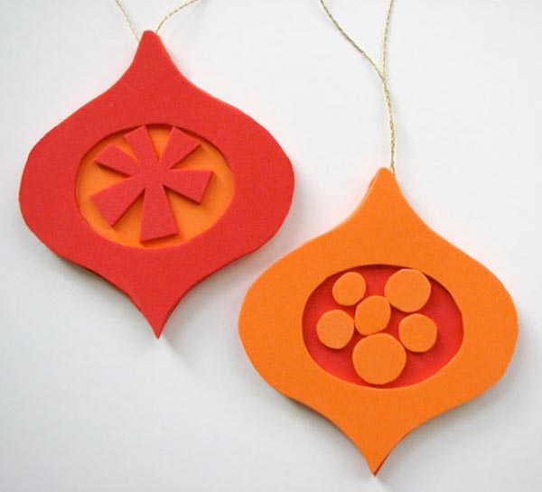Retro-Form-Ornaments