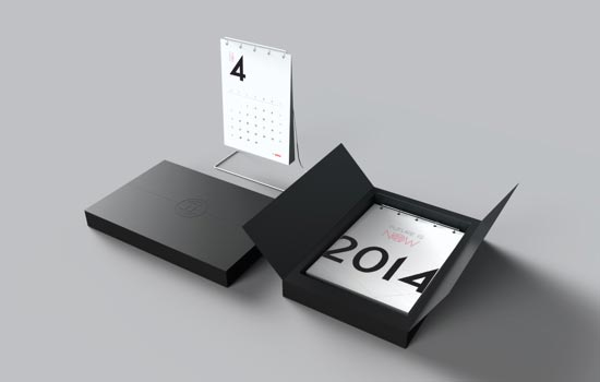 Table Calendar Design : New year wall desk calendar designs for inspiration