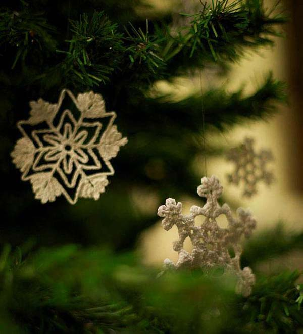 Snow-Flakes-christmas-ornaments