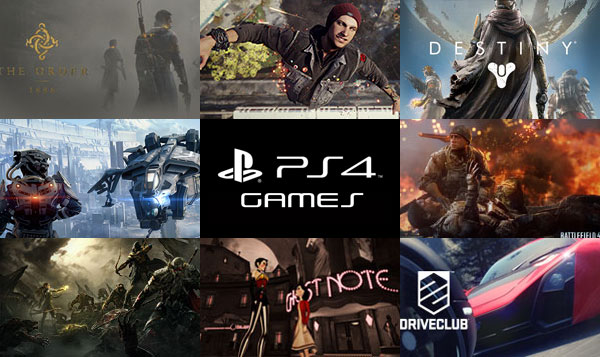 Playstation Spiele 2013 Playstation 4 Games For 2013