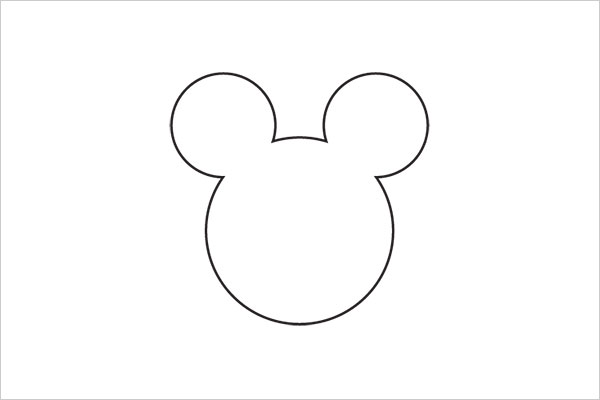 ultra-minimalista logotipo Disney Sleek Logo Design Experiment com marcas famosas