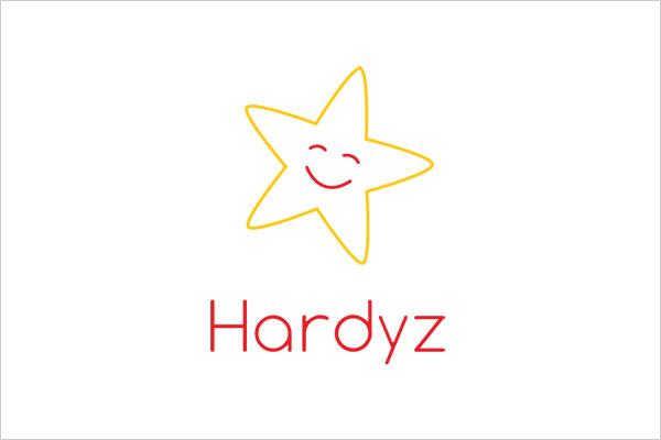 ultra-minimalist-logo-hardees