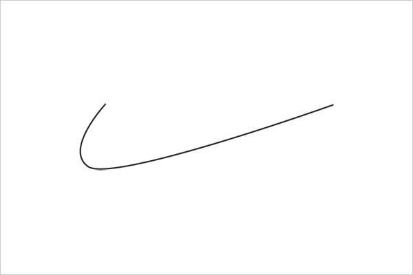 ultra-minimalista logotipo nike Sleek Logo Design Experiment com marcas famosas
