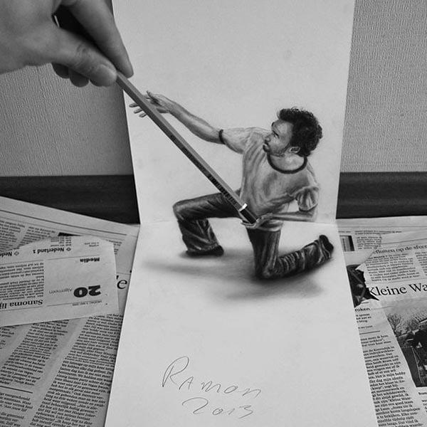 3d-optical-illusions-pencil-art-