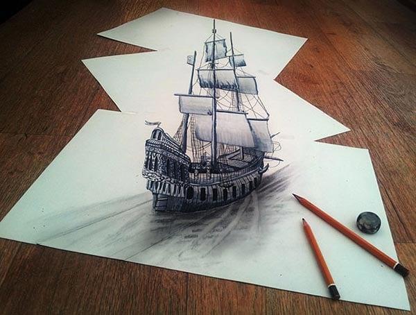 3d-optical-illusions-pencil-art-7