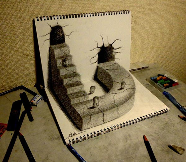 Amazing-3D-Pencil-Drawing