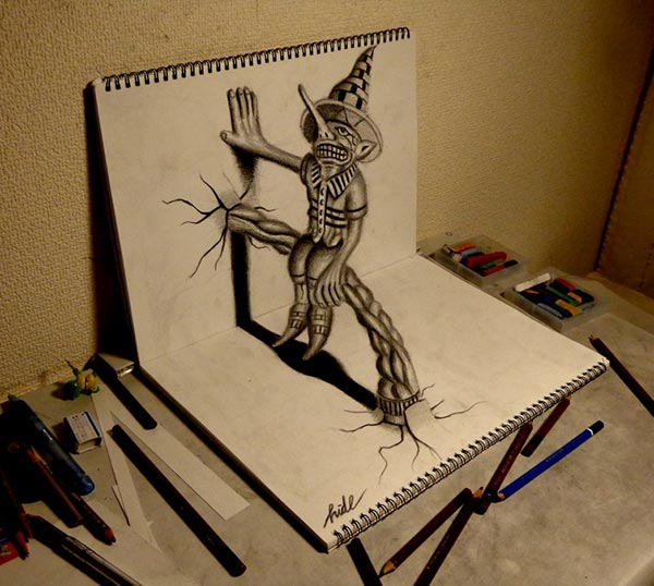 Amazing-3D-Pencil-Drawing-2