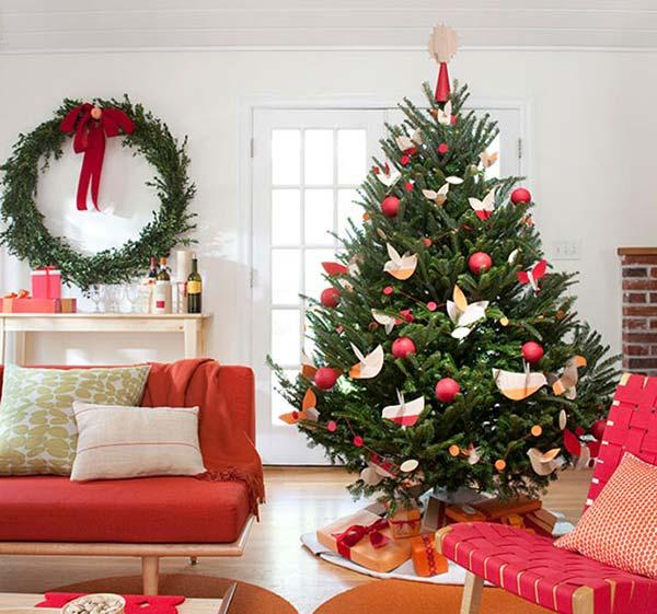 Beautiful Christmas Trees: Christmas Tree Decorations & Ideas For 2013