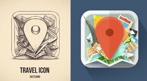 Beautiful-Icon-Sketches-for-Inspiration