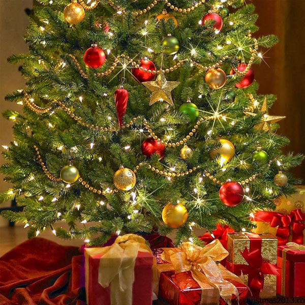 Beautiful Christmas Tree Images Part - 19: Beautiful-christmas-tree-decorations-2013