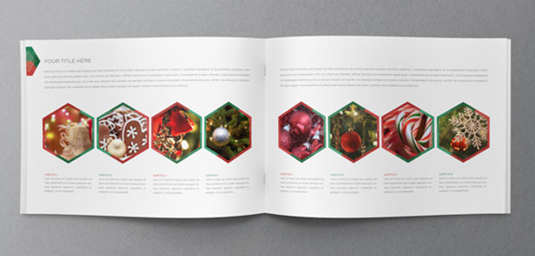 25 really beautiful brochure designs templates for for Christmas brochure template