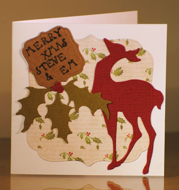 Diy-Merry-christmas-card