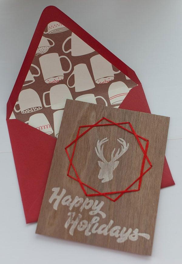 50 beautiful diy  homemade christmas card ideas for 2013