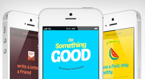 Do-Something-Good-iPhone-App-Design-for-Inspiration