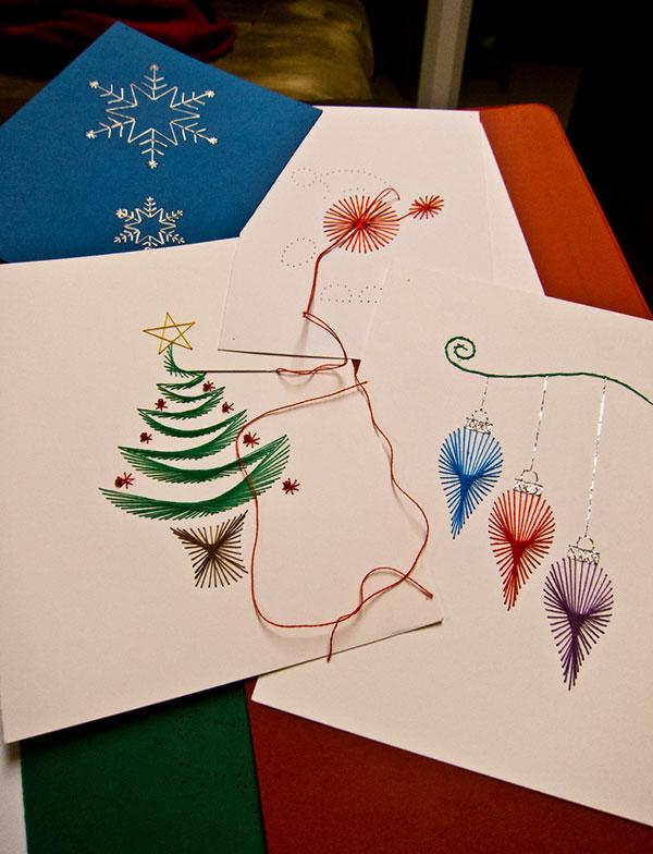 50+ Beautiful Diy & Homemade Christmas Card Ideas For 2013 ...