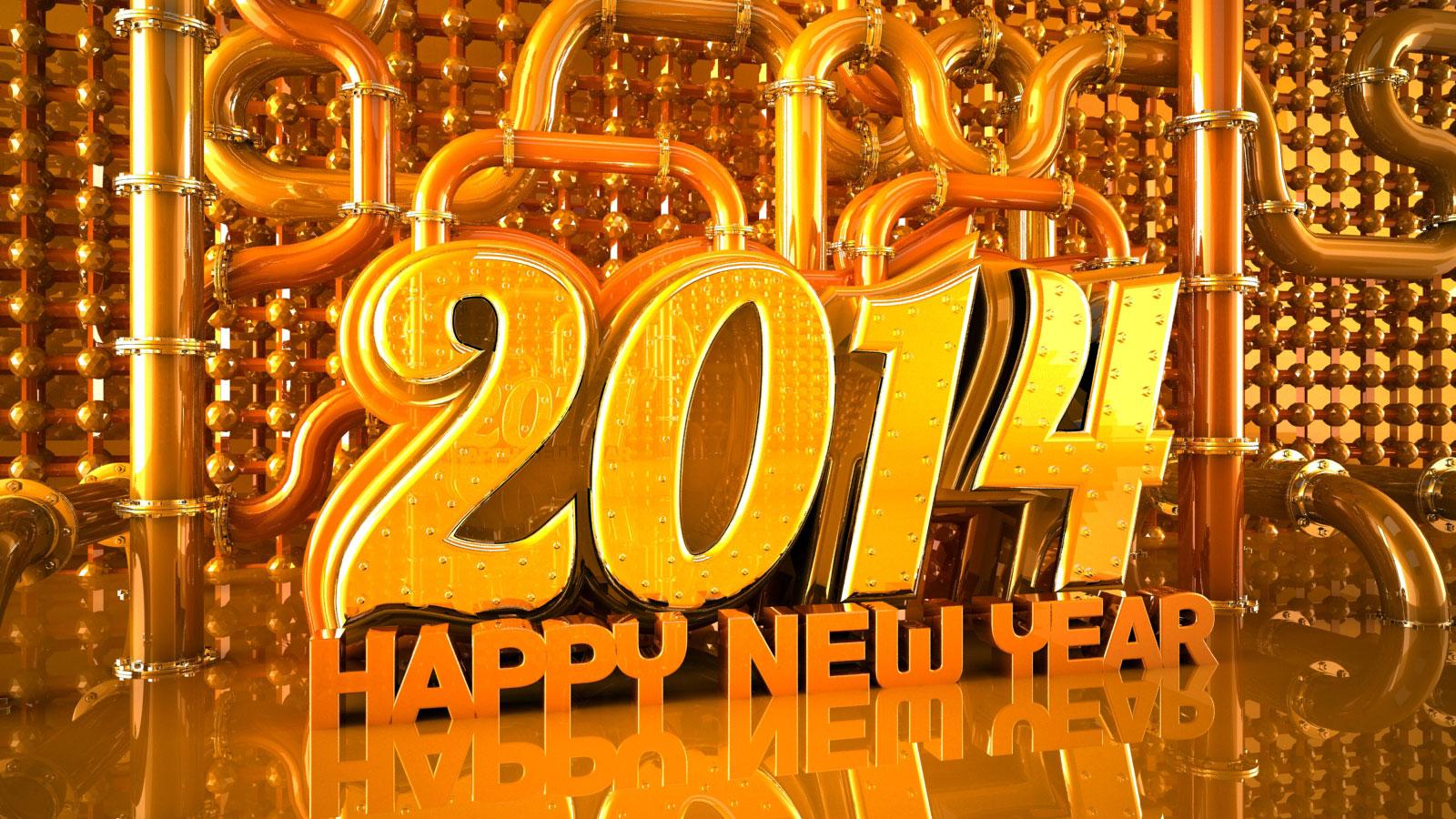 happy new year 2014 desktop background
