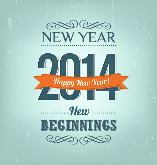 Happy-new-year-2014-Typography