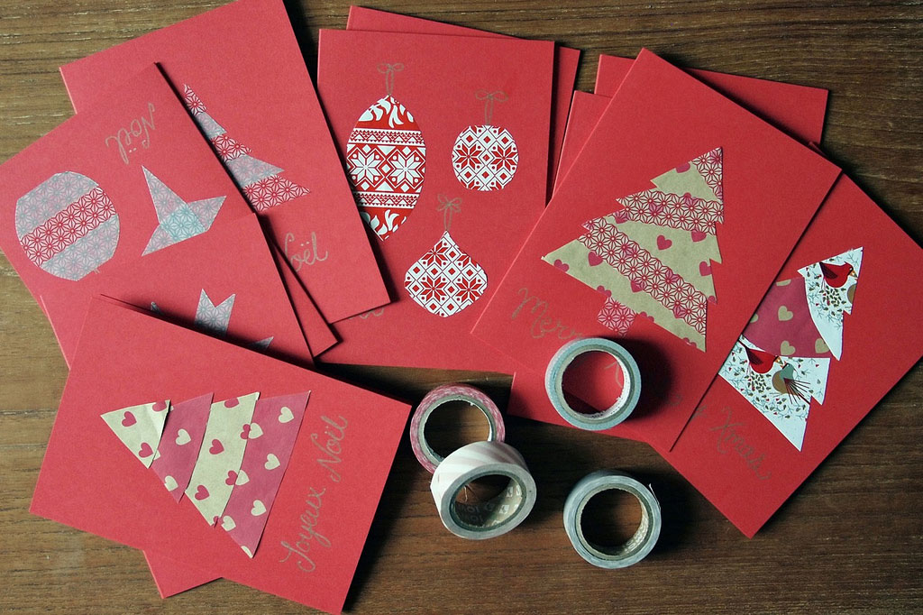 christmas card making ideas free