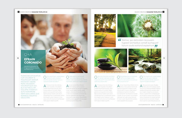 indesign brochure template 3
