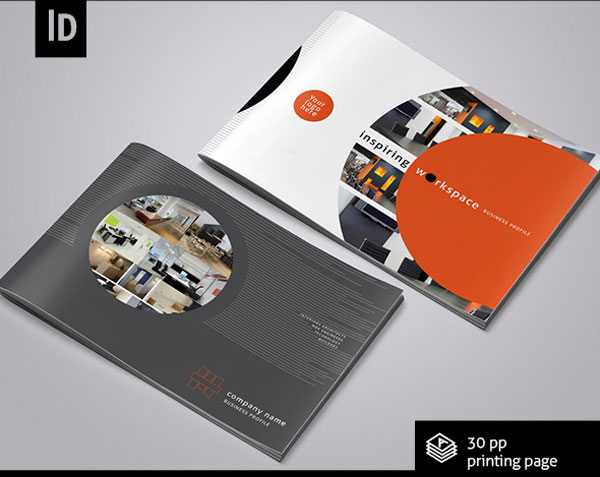 interior design brochure template 1