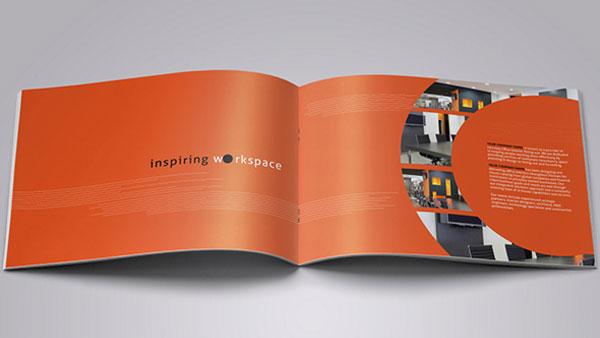 interior design brochure template 2 - Graphic Design Project Ideas