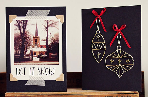 Let-it-Snow-Diy-Christmas-card-Ideas-1