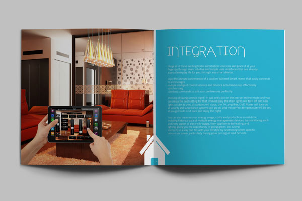 Levels Simple Brochure Design 6