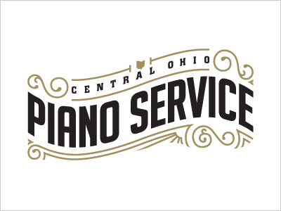 Piano-Service-Logo-Design