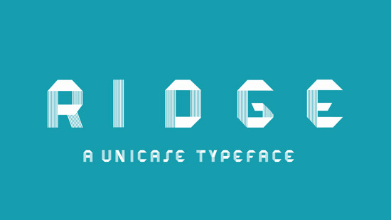 RIDGE-Free-Unique-Font-2014