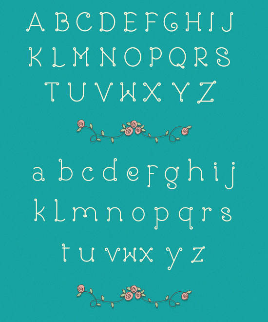 Rose-Girly-Free-Font-2014-2