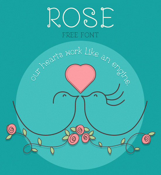 Rose-Girly-Free-Font-2014