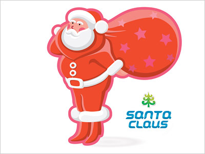 Santa-Claus-logo-design