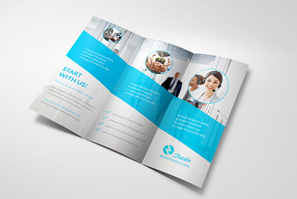 25 really beautiful brochure designs templates for for Tri fold brochure design templates