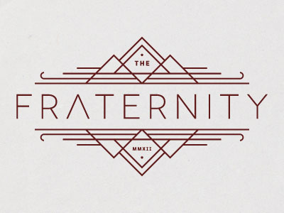 fraternity-simple-logo-design