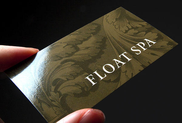 5 types of printing techniques for business cards with examples glossy business card design reheart