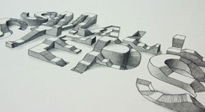 Amazing-3D-Typography-Experiment-by-Lex-Wilson