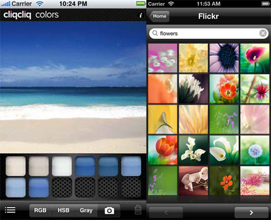 CliqCliq-colors-best-iphone-app-for-designers