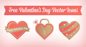 Free-Valentine's-Day-Hearts-&-Rose-Vector-Icons-f