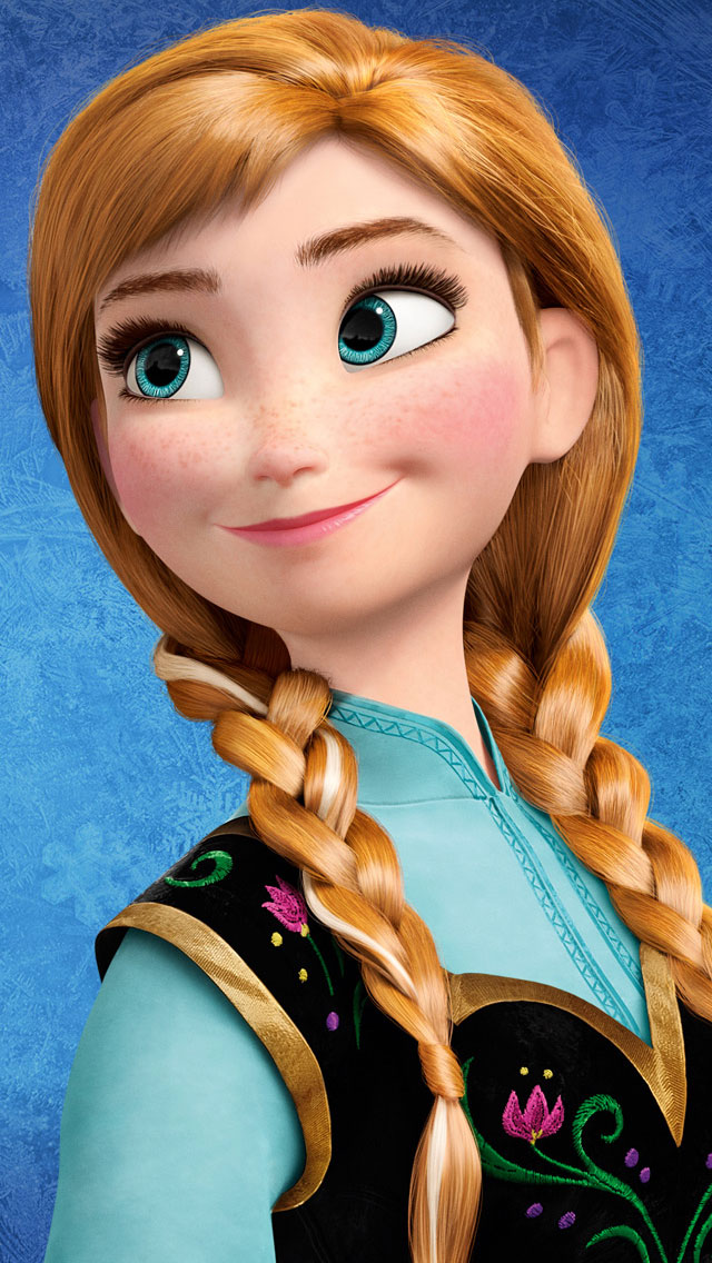 Frozen-Anna-iphone-wallpaper