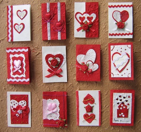25 Beautiful Valentines Day Card Ideas 2014 – Hand Made Valentine Day Cards
