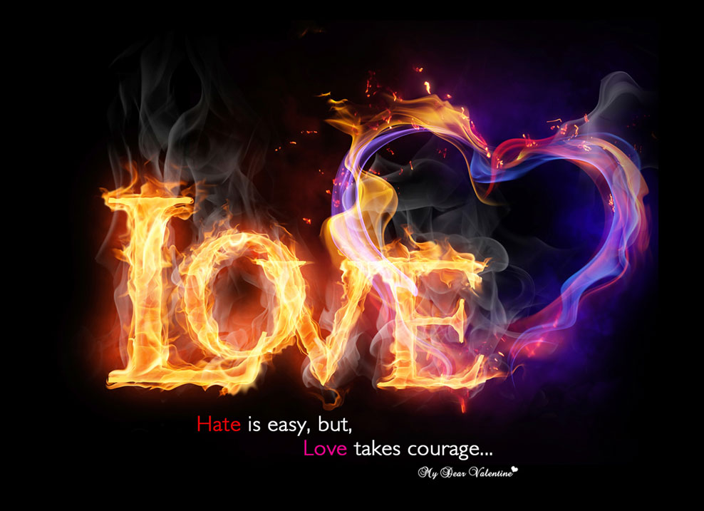 Burning Love Hd Wallpapers: 35 Happy Valentine's Day HD Wallpapers, Backgrounds