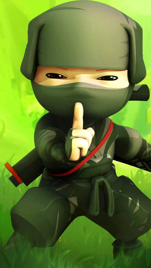 Ninja-iPhone-5-Wallpaper