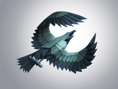 Paper-eagle
