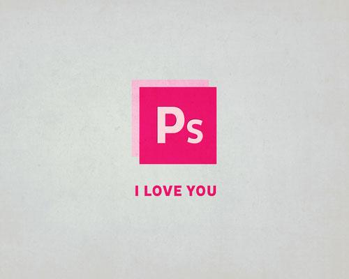 Photoshop-i-love-you