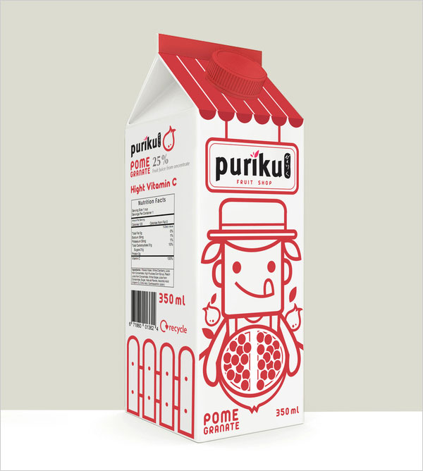 Pomegranate-juice-packaging-design