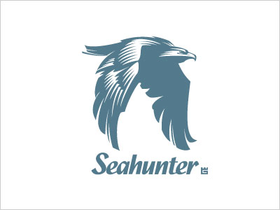 Seahunter-logo-design