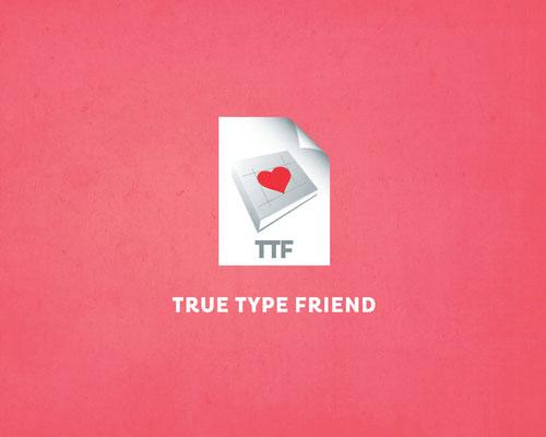 True-Type-Friend-v-card