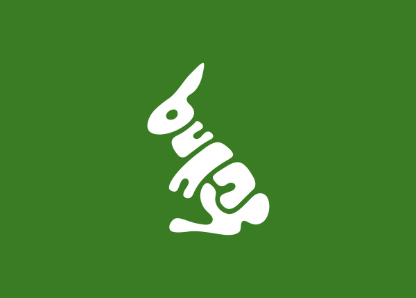 bunny logo A Creative Project of Animal Logotypes by Dan Fleming