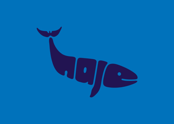 whale logo A Creative Project of Animal Logotypes by Dan Fleming